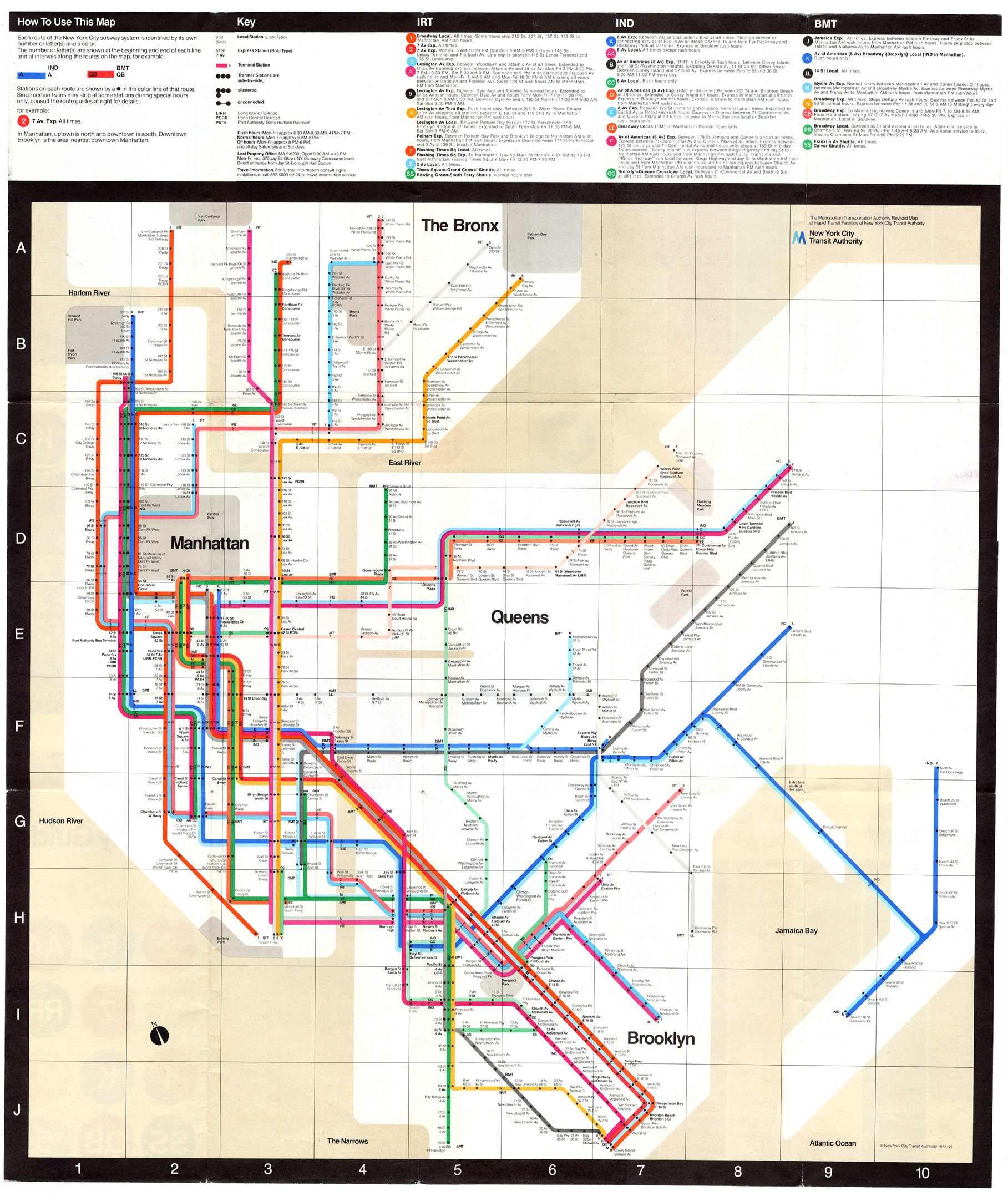 Nyc Subway Map 2011.Arte Bellavitae