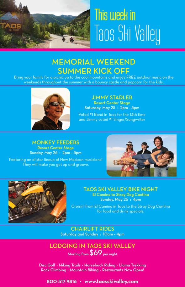 Taos Ski Valley Memorial Day Weekend